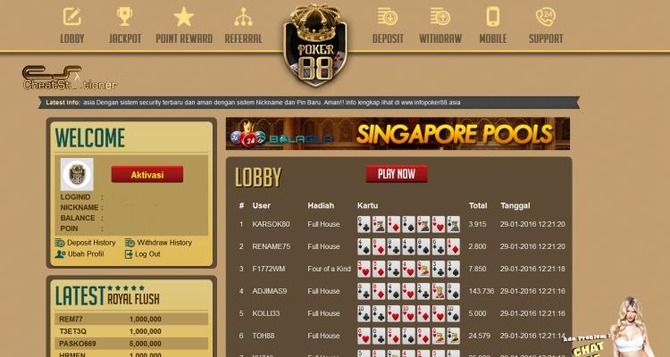 Cara Daftar Poker88 - Judi Poker Online Teraman