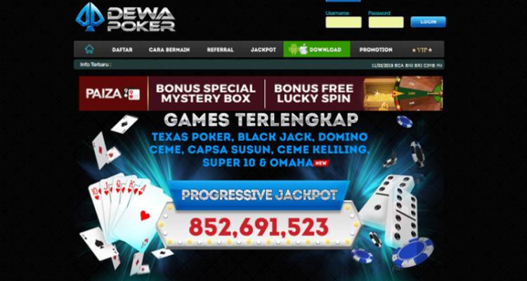 DewaPoker - Agen Poker & Domino Online Terpercaya